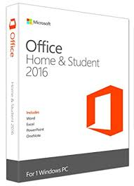 WINDOWS OFFICE HOME AND STUDENT 2016